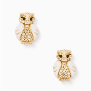 Kate Spade Star Bright Owl Studs